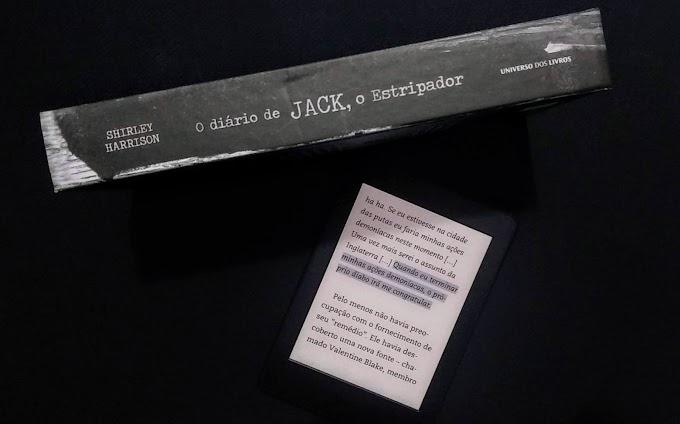 Resenha: O Diário de Jack, O Estripador
