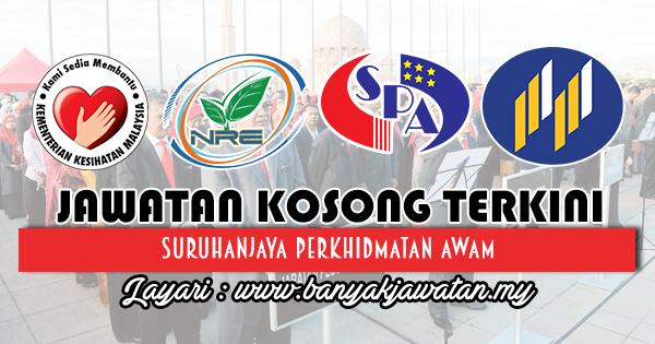 Jawatan Kosong Terkini 2018 di Jabatan Kerajaan Malaysia - 15 April 2018 [111 Kekosongan]