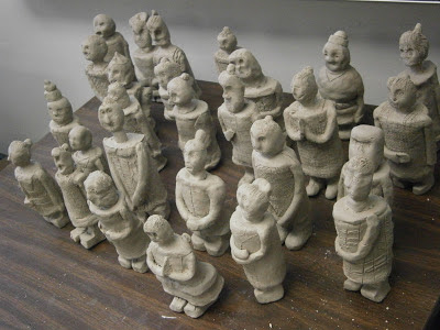Miss Arty Pants Clay Army Terra Cotta Warriors Continued
