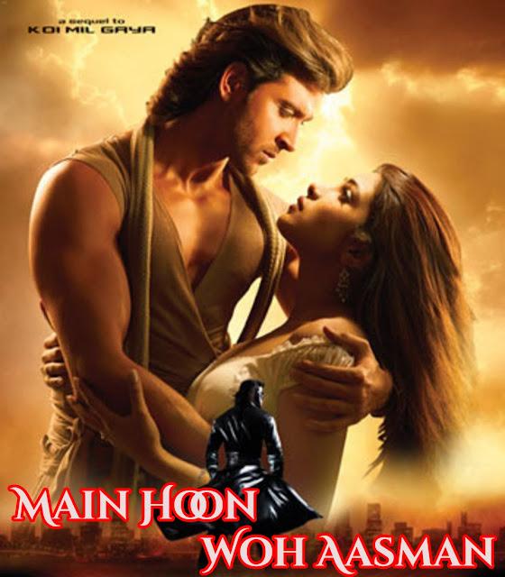 Main Hoon Woh Aasman (Krrish) Song Lyrics - Alka Yagnik, Rafaqat Ali Khan