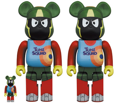 Space Jam: A New Legacy Bugs Bunny & Marvin the Martian Looney Tunes Be@rbrick Vinyl Figures by Medicom Toy