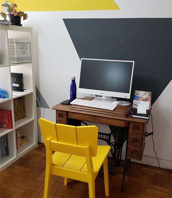escritório, como fazer escritório, escritório faça você mesmo, escritório diy, home office, decoração barata, como decorar escritório, escritório decorado
