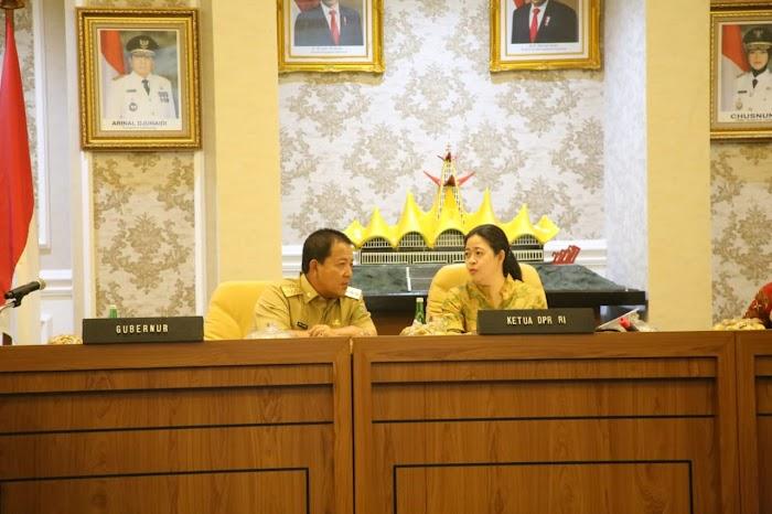 Ketua DPR RI Puan Maharani Dukung Program Pembangunan Pro Rakyat yang Dilakukan Gubernur Arinal