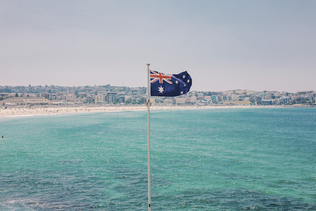 Australian Flag, Bondi, NSW