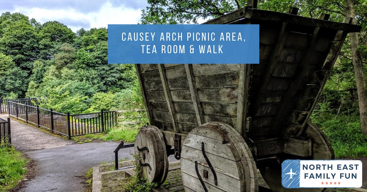 Causey Arch Picnic Area, Tea Room & Walk