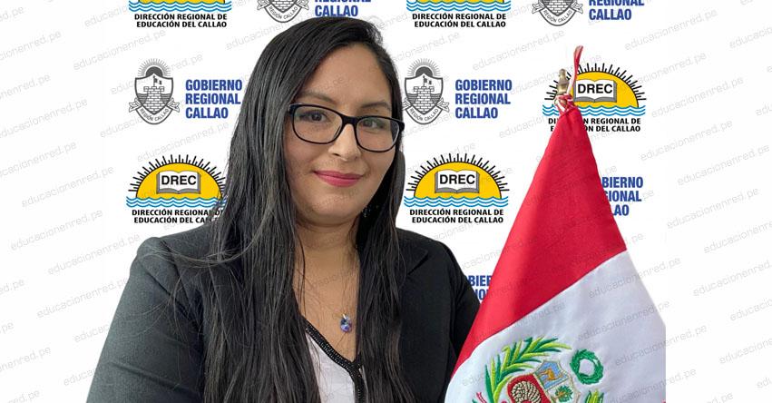Designan nueva directora en la DRE Callao (Vanessa Yohelma Sihuay Rojas) www.drec.gob.pe
