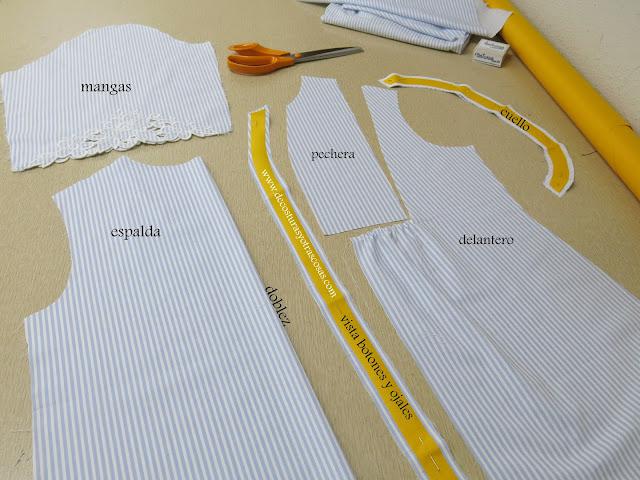 como coser una blusa informal