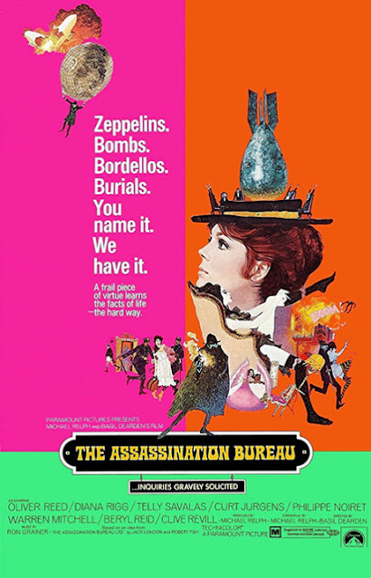 US poster for the film The Assassination Bureau