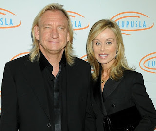 Joe Walsh with his 5th wife Marjorie Bach