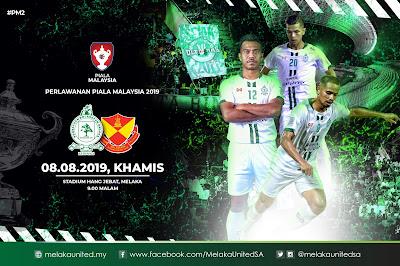 Live Streaming Melaka United vs Selangor 8.8.2019 [Piala Malaysia]