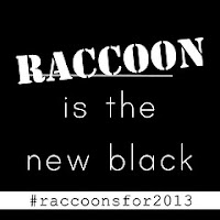 Made with Moxie: Rocky Raccoon Shoelace Pets. #raccoonisthenewblack