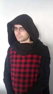 Capucha cosplay Kylo Ren