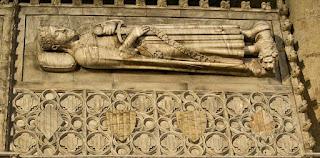 Sepulcro actual de Jaime I de Aragón