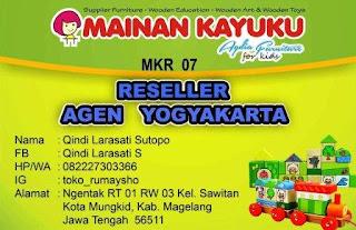Reseller Mainan Kayuku Yogyakarta Qindi