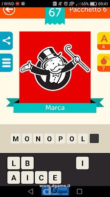 Iconica Italia Pop Logo Quiz soluzione pacchetto 6 livelli 67-100