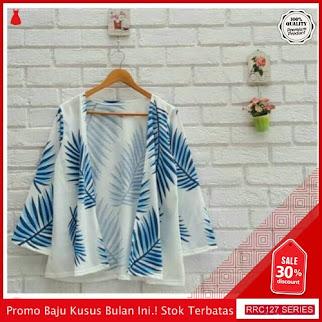 RRC127L53 Leaf Kimono Outer Wanita Terbaru BMGShop