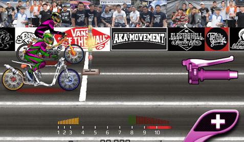 download drag bike 201m indonesia mod apk