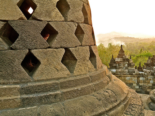 Visiting the Borobudur