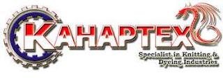 Lowongan Kerja PT Kahaptex Textile