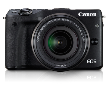 EOS M3 Kit II (EF-M18-55 IS STM & EF-M55-200 IS STM)