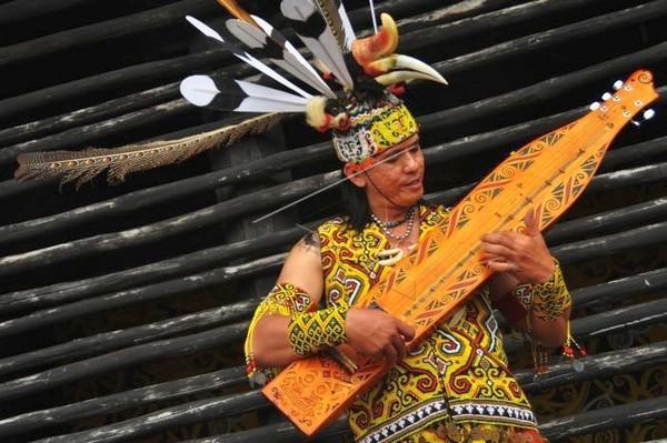 Alat Musik Suku Dayak