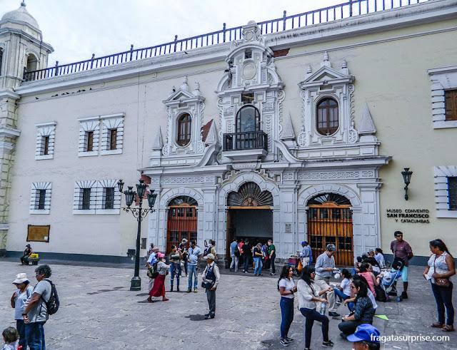Museu do Convento de São Francisco, Lima, Peru