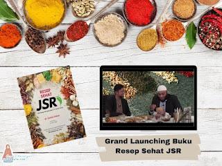 Grand launching buku resep sehat JSR