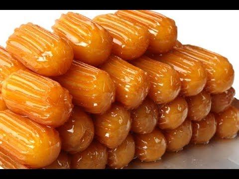 رمضان 2020 .. حلويات في قائمة  إفطار رمضان جربيها بنفسك - طريقة عمل بلح الشام