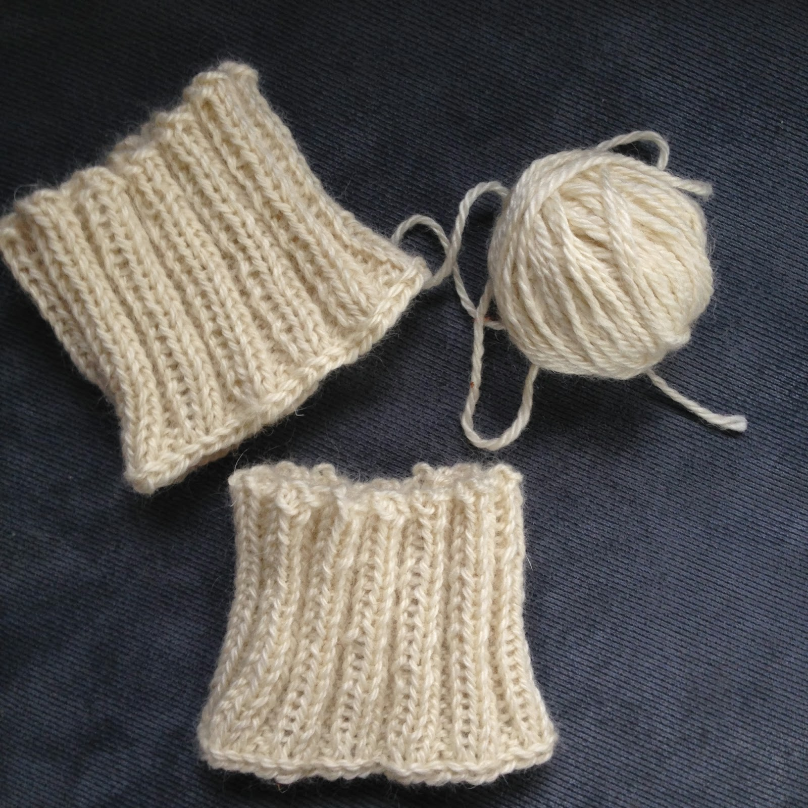 Knit Nat: Simple Knitted Boot Cuffs