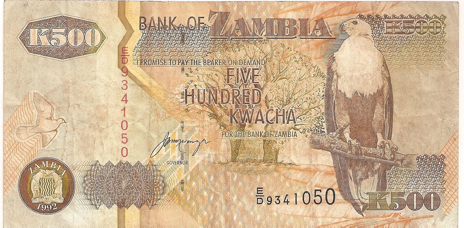 ZAMBIA 100  KWACHA   2006   P 38f   LOT  2  PCS  Uncirculated Banknotes