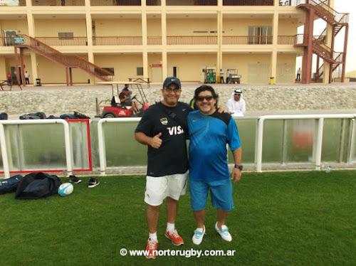 Claudio Fernández: El día que conocí a Maradona #AnécdotasDeRugby