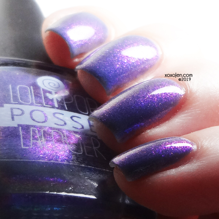 xoxoJen's swatch of Lollipop Posse Mellifluous