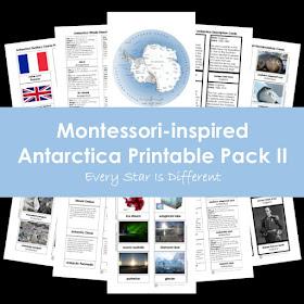 Montessori-inspired Antarctica Printable Pack II