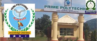 Prime Poly Ajaokuta Admission Form 2021/2022   ND & HND