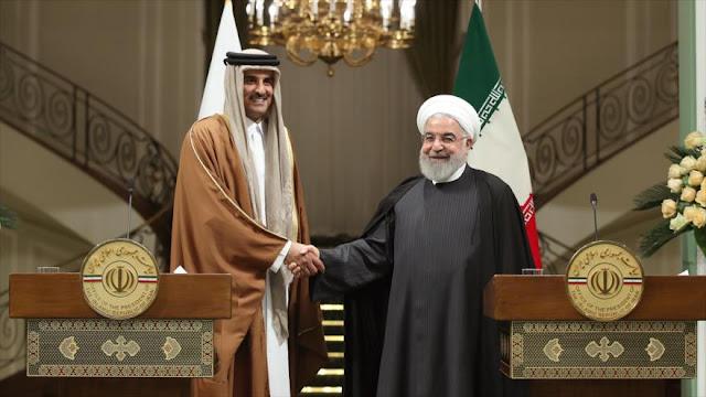 Irán y Catar abogan por profundizar sus relaciones bilaterales