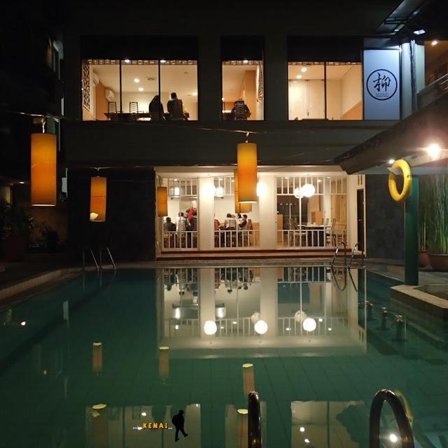 hotel bentani, cirebon, berenang