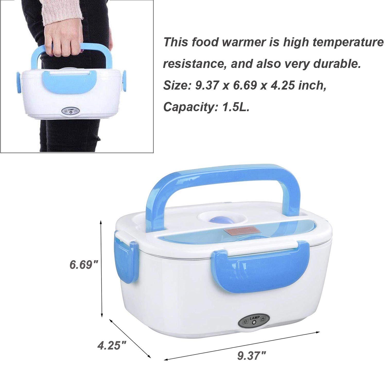 Car Electric Lunch Box,Portable Food Warmer