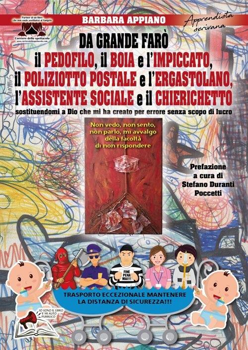 """Cultura: esce """"Da grande farò..."""", l'ultimo libro di Barbara Appiano"""