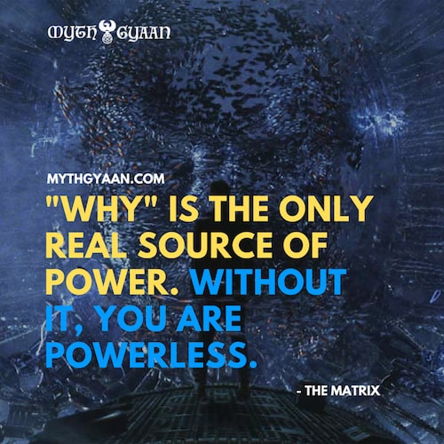 Matrix Quotes Photo - Merovingian Quotes: Why is the only real source of power. Without it, you are powerless.