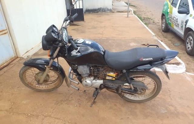 Homem de 37 anos é preso por furto de moto em Aroazes-PI