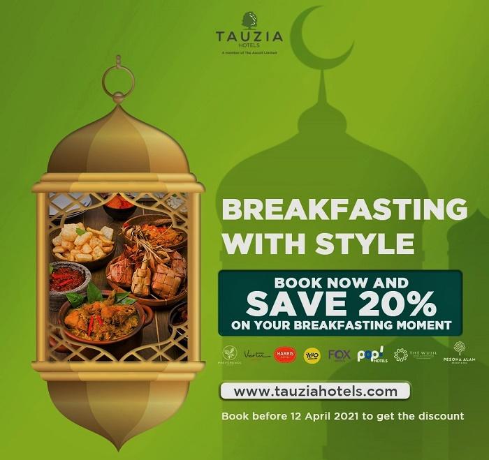 Dapatkan Penawaran Spesial Selama Ramadhan di Tauzia Hotels
