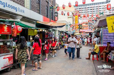 Chinatown Petaling Street Market www.WELTREISE.tv