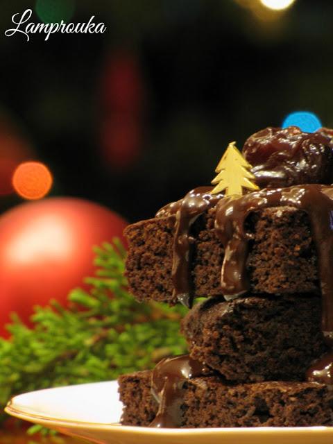Εύκολο σοκολατένιο μπράουνις χωρίς μίξερ.