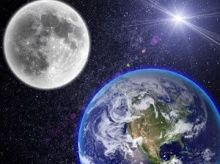 Earth's Gravitational force tidally locked the Moon