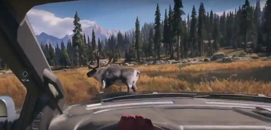 Far Cry 5 Grill Streak, Side Quest, Antlered, Road Kill