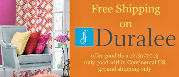 Duralee Free Shipping