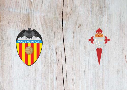 Valencia vs Celta Vigo -Highlights 1 February 2020