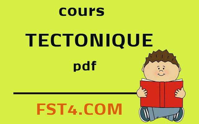 TECTONIQUE BCG S4 FST ERRACHIDIA PDF