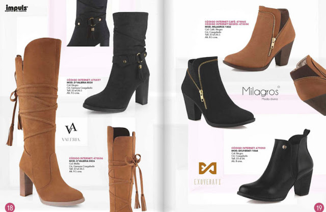 catalogo de zapatos impuls