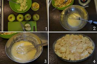 foto preparazione Ricetta torta di mele senza burro e senza olio